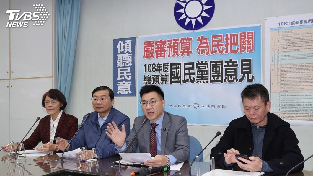 圖/中央社 總預算審查 藍籲民進黨團勿強行表決