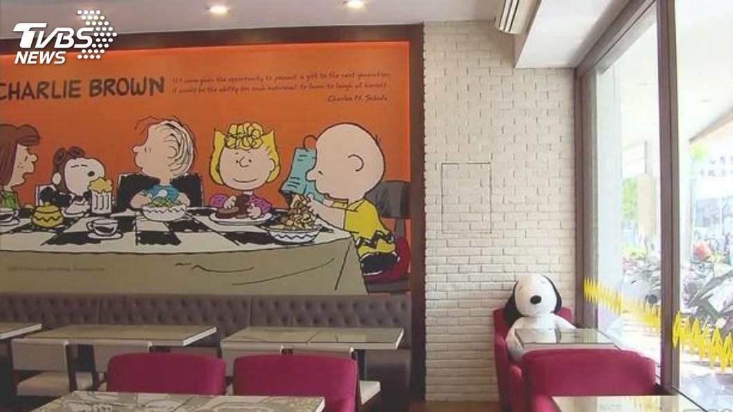 圖/TVBS資料畫面 等不到韓流?租金漲到30萬 查理布朗咖啡廳旗艦店熄燈