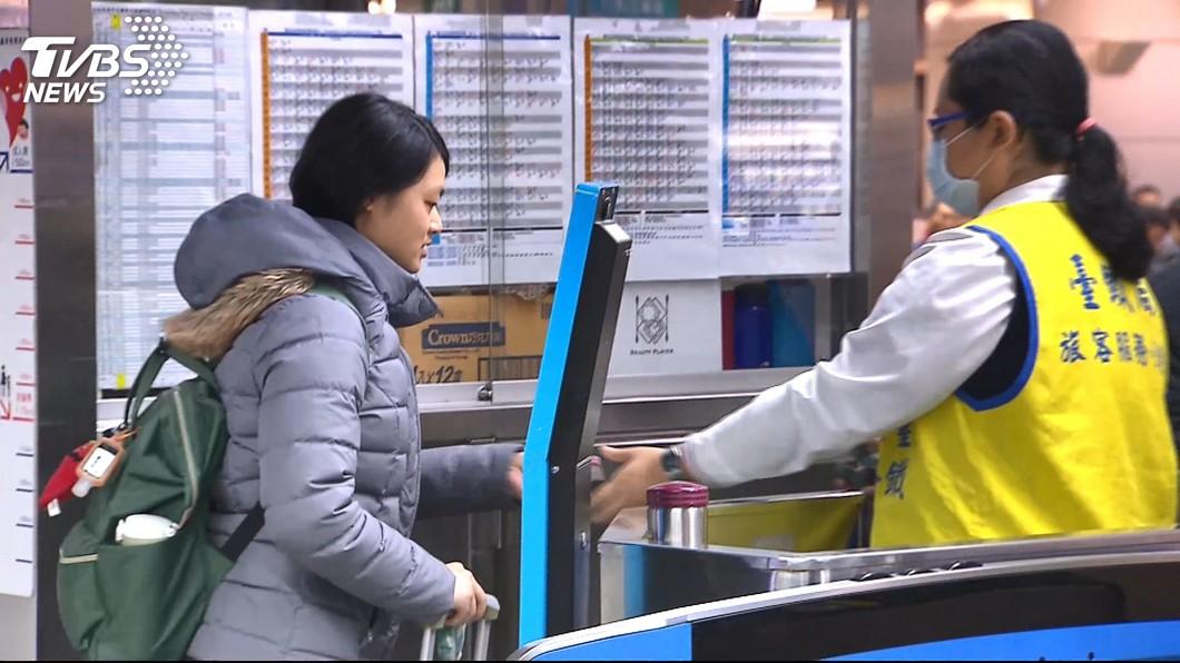 示意圖,與本事件人物無關。圖/TVBS資料畫面 元旦收假把握「雙鐵攻略」 返家車票還有機會