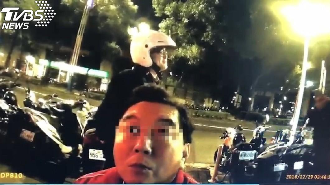 圖/TVBS 高國華酒駕辯吃薑母鴨 酒測超標央求:再讓我吹一次