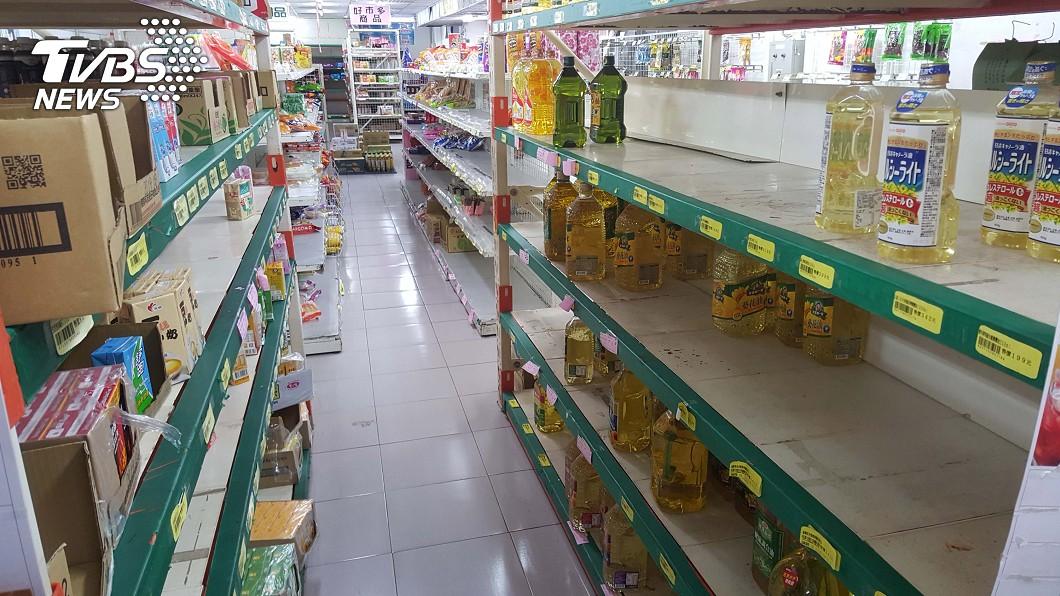 圖/中央社 澎湖公教福利中心 31日熄燈