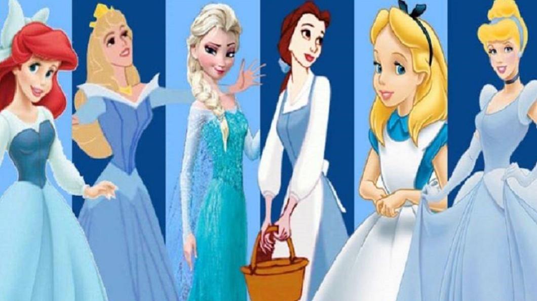 圖/翻攝自88Razzi網站 迪士尼公主們為何都穿藍裙子?藏94年真相有洋蔥