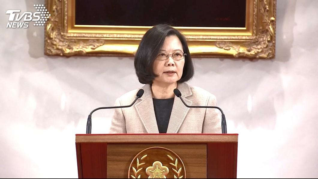 圖/TVBS TVBS民調/元旦後總統滿意度23%、不滿意度53%