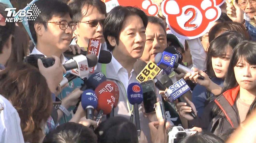 2020綠營誰來選,有立委提出賴清德搭配陳其邁。(圖/TVBS) 清邁配取代英德配?綠委提陳其邁選副總統