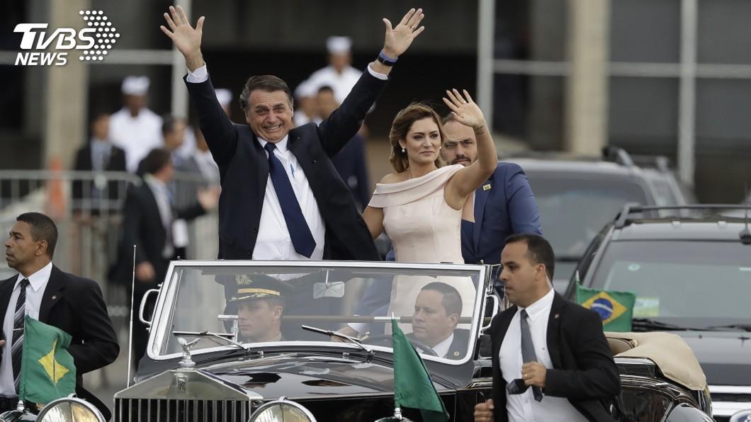 圖/達志影像美聯社 巴西新總統:我當選將國家從社會主義解放出來
