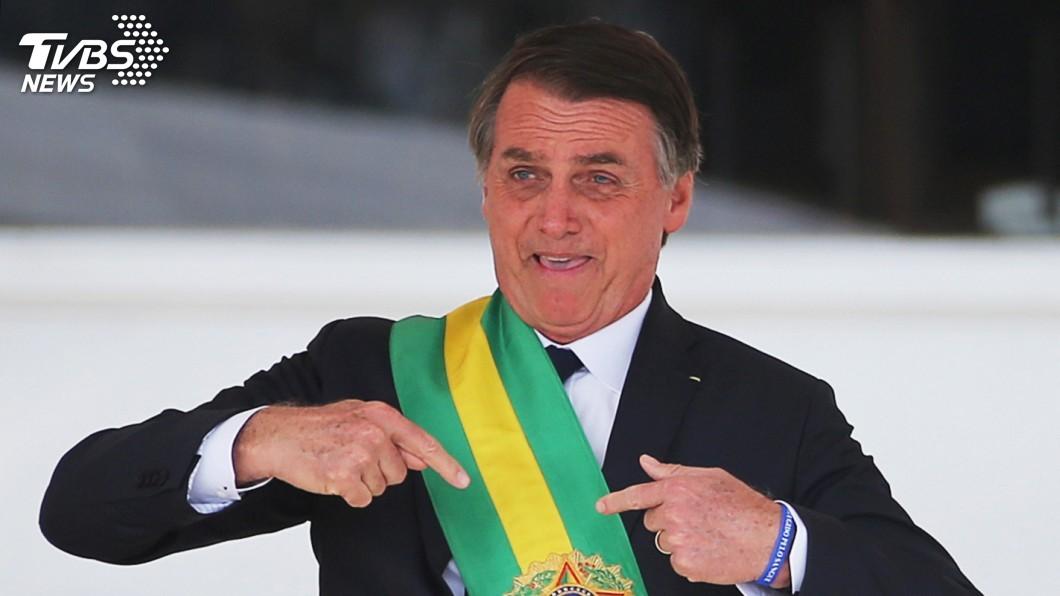 圖/達志影像路透社 巴西極右派新總統就任 籲同心振興經濟