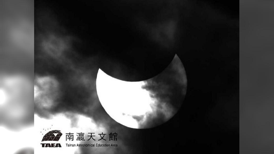 1月6日「迷你日偏食」會在嘉義以北登場。圖/南瀛天文館提供