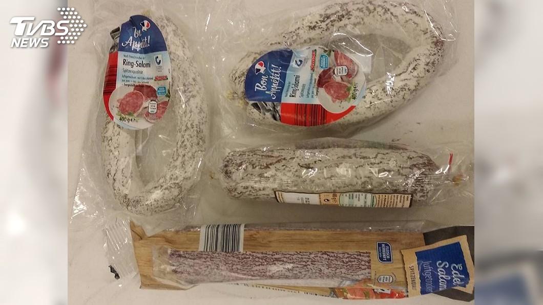 圖/中央社 德國男子攜豬肉香腸入境 遭罰3萬元