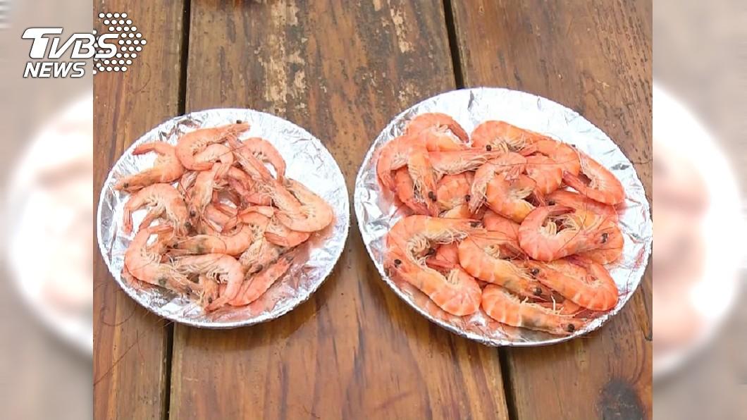 示意圖/TVBS 妹帶2兒回娘家蹭飯 嗑光90隻蝦剩「殼」丟滿桌
