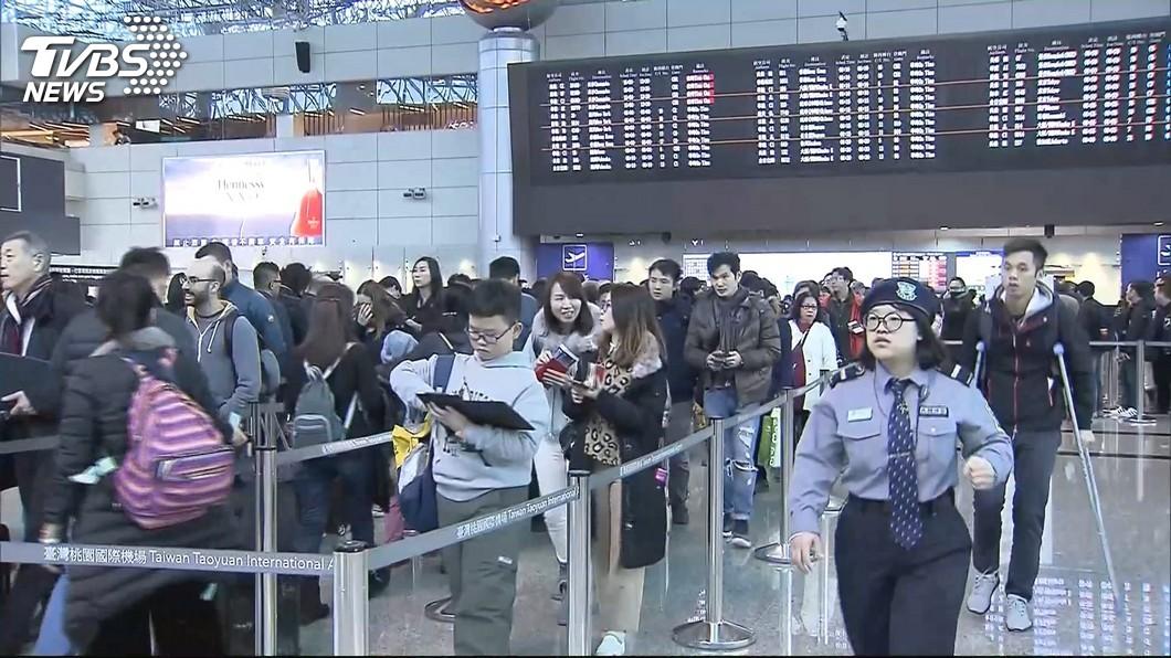 中華、長榮航空自8日起調降燃油附加費。示意圖/TVBS