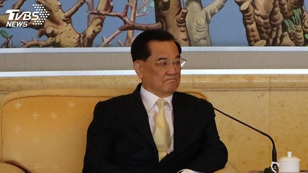 前國民黨主席連戰。(圖/TVBS資料畫面) 藍兩岸新論述掀波 連戰:九二共識價值不容抹煞