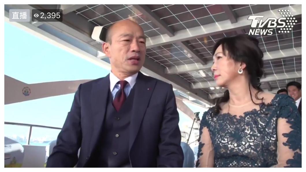 高雄新科市長韓國瑜上周在愛河畔舉辦戶外就職典禮,如同宣告:愛情產業來了!高雄經濟春天將從愛河出發!    圖/TVBS  《高雄起飛系列》愛情來了!  讓經濟春天從愛河出發