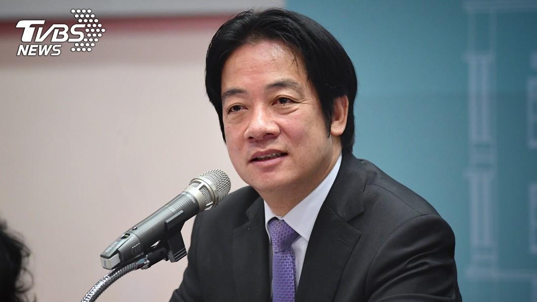 圖/中央社 回應憲政空窗期 賴清德:若贏初選不會干涉總統職權
