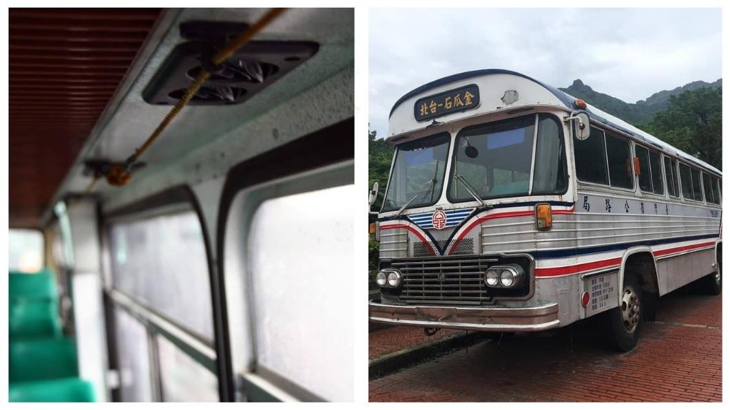 以前的公車有條繩子,你知道是做什麼用的嗎?(圖/合成圖,翻攝自爆廢公社公開版) 下車鈴用「拉」的!超復古公車 網友嘆:時代的眼淚啊