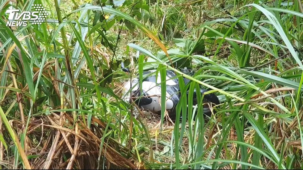 老婦摔落邊坡,受困77小時。圖/TVBS 摔邊坡困77小時找不到路 老婦靠「阿婆」引路幸運獲救