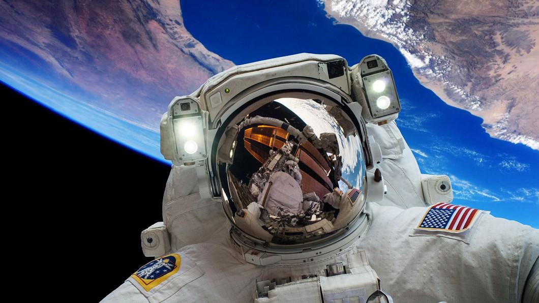 示意圖/TVBS NASA嚇壞!宇航員撥911 笑稱:他們沒來很失望