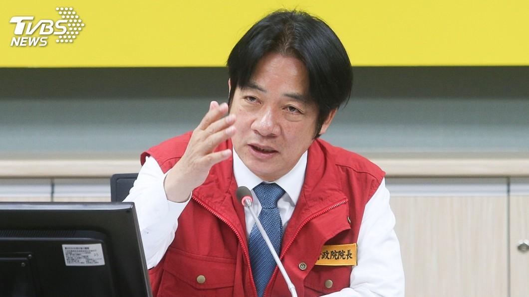 行政院長賴清德確定在周四內閣總辭。(圖/中央社,TVBS)
