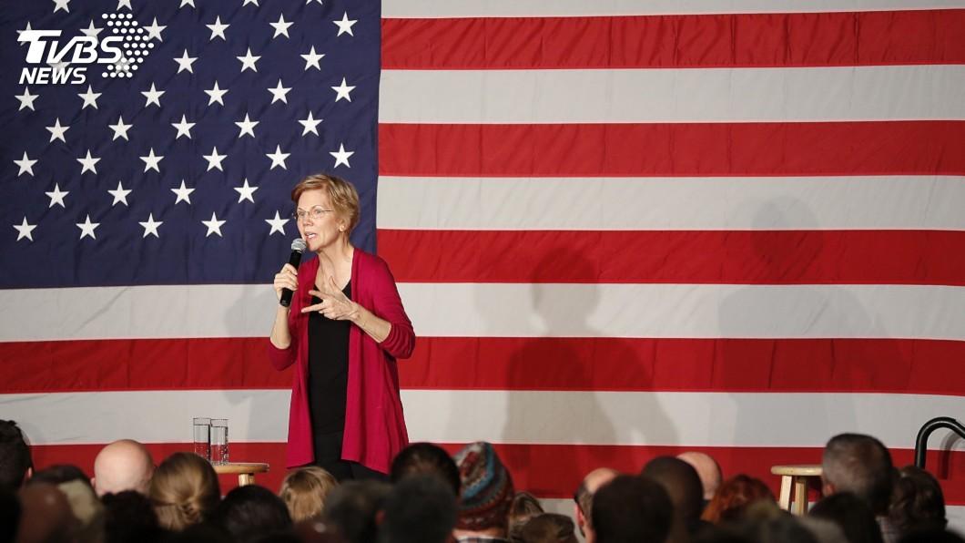 圖為美國聯邦參議員華倫。圖/達志影像美聯社 民主黨拚選贏川普 女將要克服性別劣勢