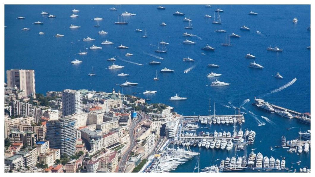 摩洛哥全年遊艇經濟產值約7億歐元(見圖),相當於246億台幣, 創造1435個工作機會;擁有天然高雄港和愛河停泊的大高雄,若能開發成「東方摩洛哥」,遊艇商機將十分驚人。    圖/台灣遊艇工業同業公會