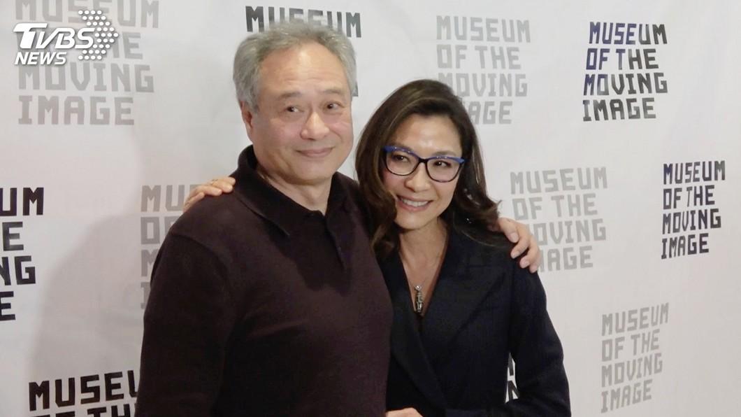 圖/中央社 亞裔風靡好萊塢 李安、楊紫瓊與有榮焉