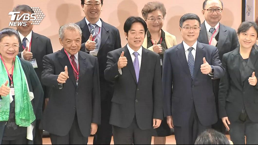 圖/TVBS資料畫面 總預算三讀!賴揆赴立院致謝 宣布內閣明日總辭