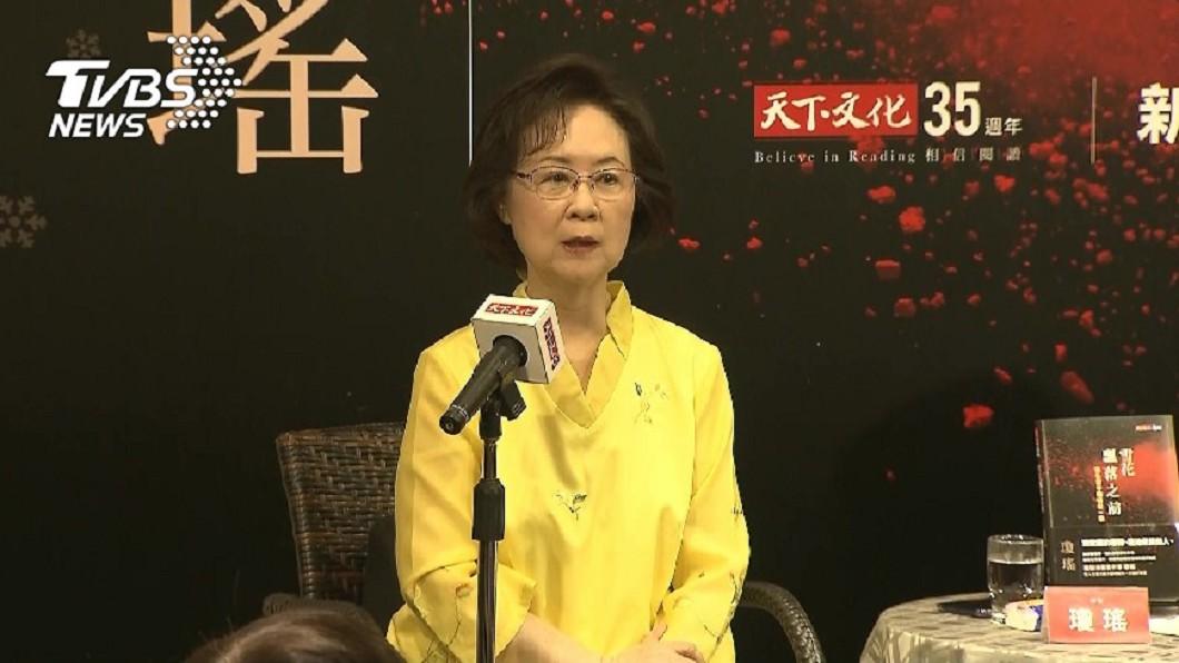 圖/TVBS 瓊瑤發文力挺韓國瑜 笑稱已年邁:被拖出來當顧問
