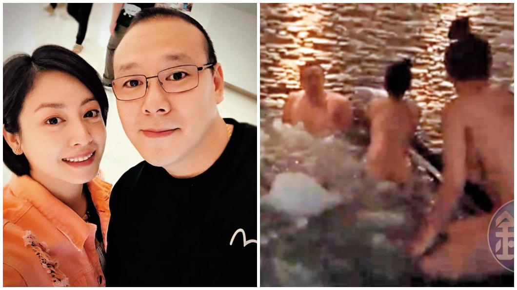 圖/翻攝范筱梵臉書、鏡週刊 范筱梵老公「帝王洗」影片曝光 2女緊貼抹身共浴