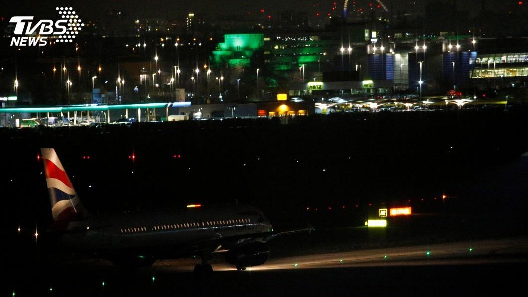 圖/達志影像路透社 無人機再鬧倫敦機場 希斯羅航班一度無法起飛