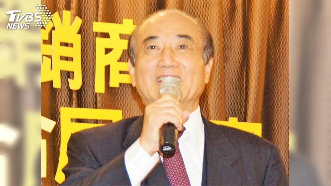 圖/中央社 2020是否參選總統? 王金平:時機一到就會報告