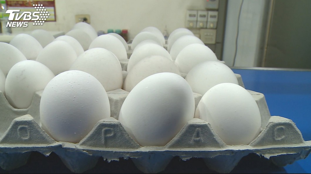 圖/TVBS 春節前蛋價20年新高 農委會:盒裝零售沒波動