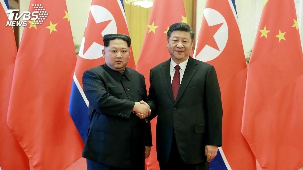圖/達志影像美聯社 習金會 金正恩讚中國在半島緩和發揮重要作用