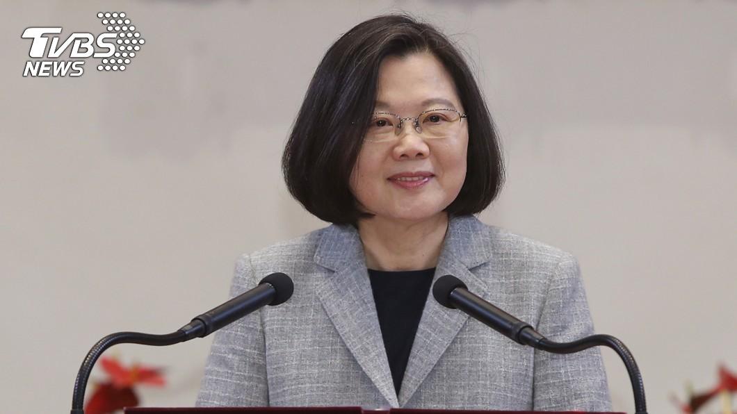 圖/中央社 民進黨總統初選蔡英文大勝 民調全贏賴柯韓