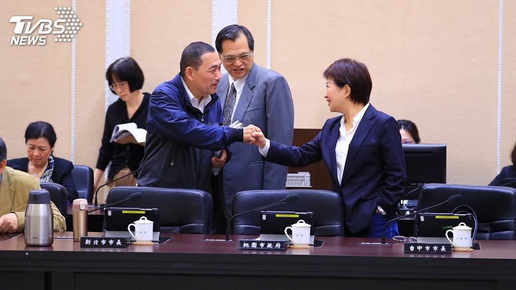 圖/中央社 盧秀燕列席行政院會 盼爭取2020台灣燈會主辦權