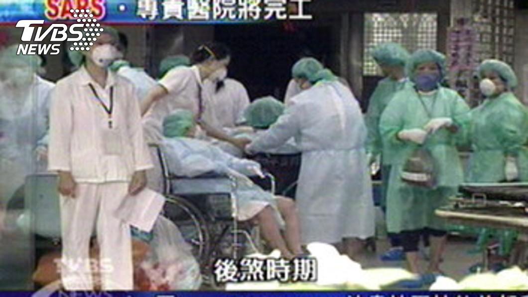 2003年SARS疫情肆虐全台。圖/TVBS資料畫面