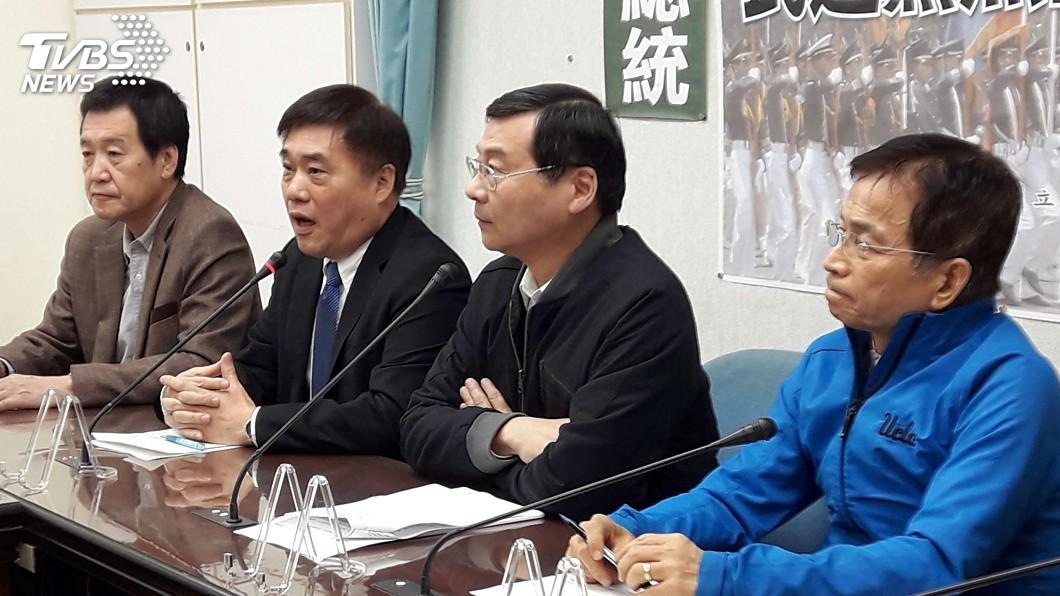 圖/中央社 藍委譴責壓迫陸官改校歌 綠委:持續推動改革
