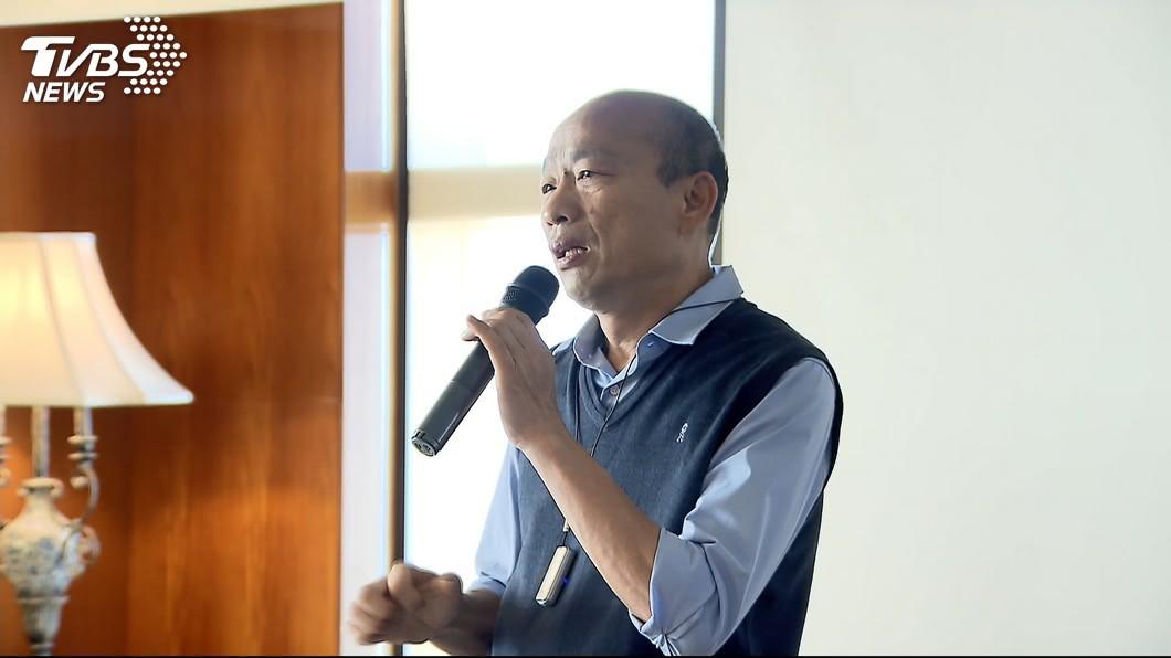圖/TVBS 高人氣背後有隱憂 潘恆旭爆韓國瑜最大罩門