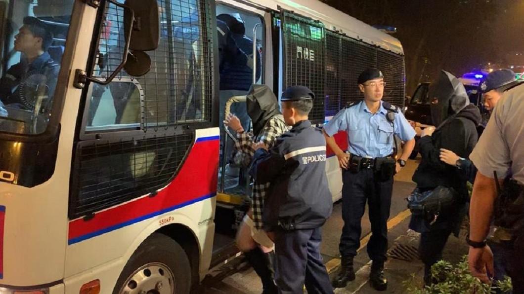圖/翻攝自香港警察 Hong Kong Police 臉書