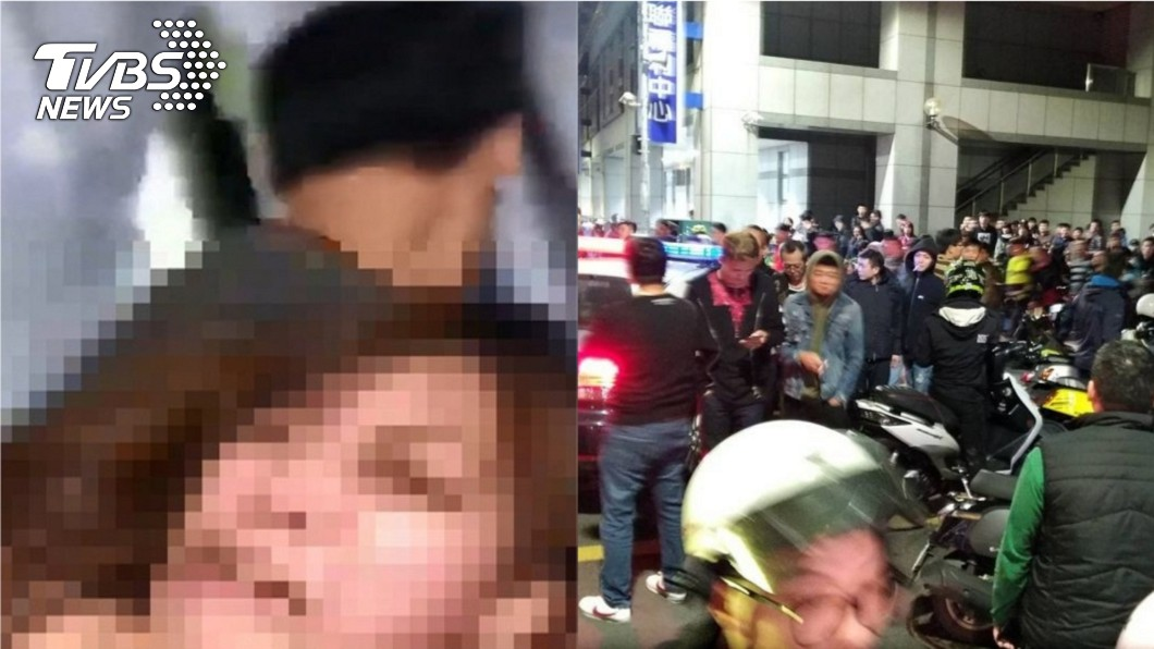 圖/TVBS 肉圓狠爸痛毆妻兒 7網友肉搜動私刑遭送辦
