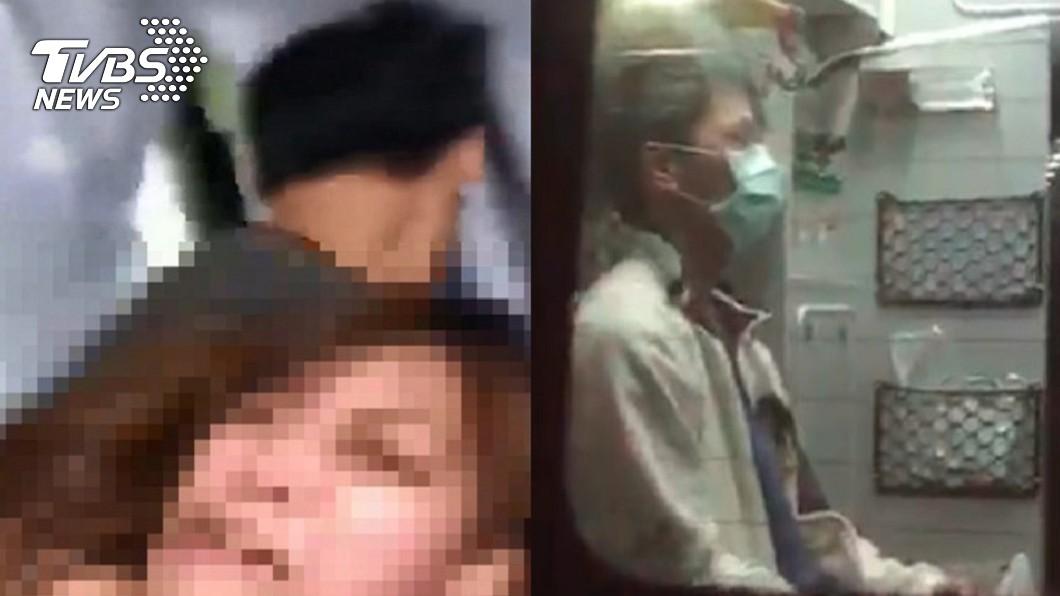 圖/TVBS 肉圓狠男被毆到送醫 他建議:要打就打「這裡」!