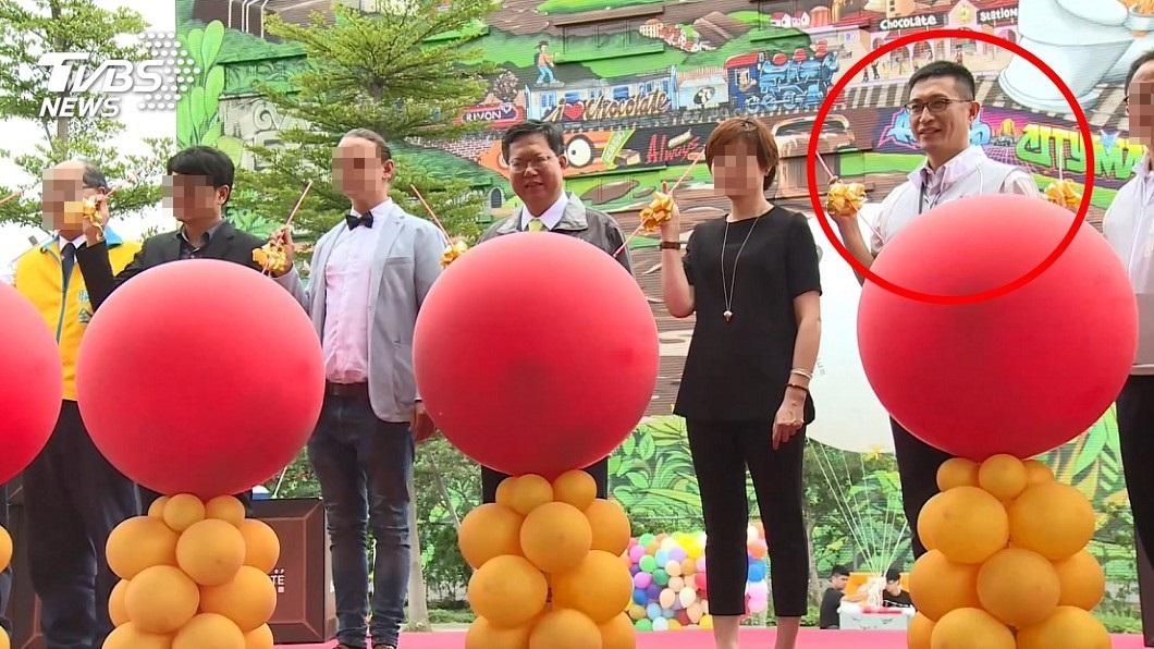 圖/TVBS 涉嫌收賄 前桃園市經發局長朱松偉羈押禁見