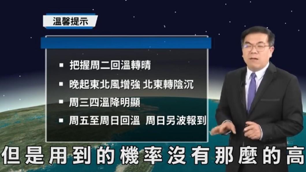 圖/翻攝自臉書「氣象達人彭啟明」
