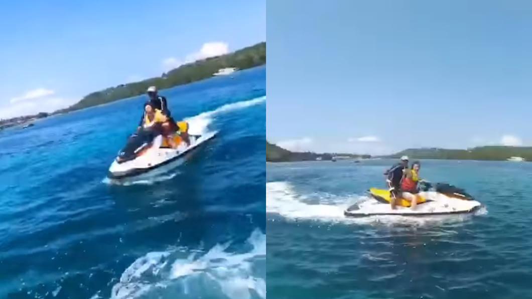 原PO分享員工旅遊到峇里島的照片,羨煞不少網友。圖/翻攝自爆怨公社