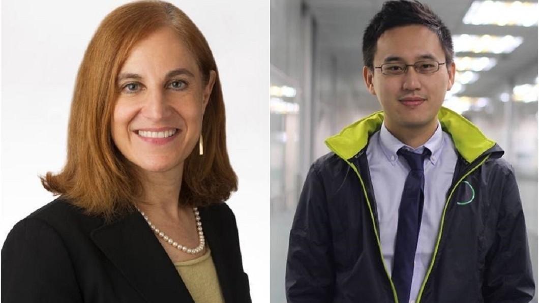 美國國際與戰略研究中心(CSIS)亞洲資深顧問葛來儀(Bonnie Glaser)(左)也在趙怡翔的臉書留言支持。圖/鏡周刊 「期待與你合作」 華府智庫顧問留言力挺口譯哥趙怡翔