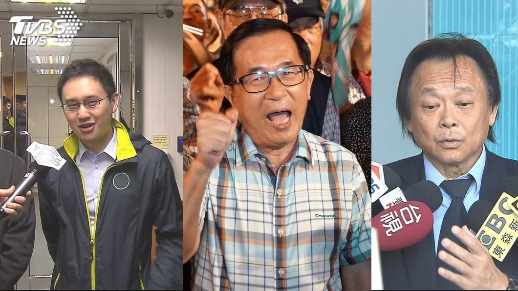 「口譯哥」趙怡翔、前總統陳水扁、台北市議員王世堅。合成圖/TVBS、中央社 害民進黨形象出問題?他點名換掉這「3人」馬上變好