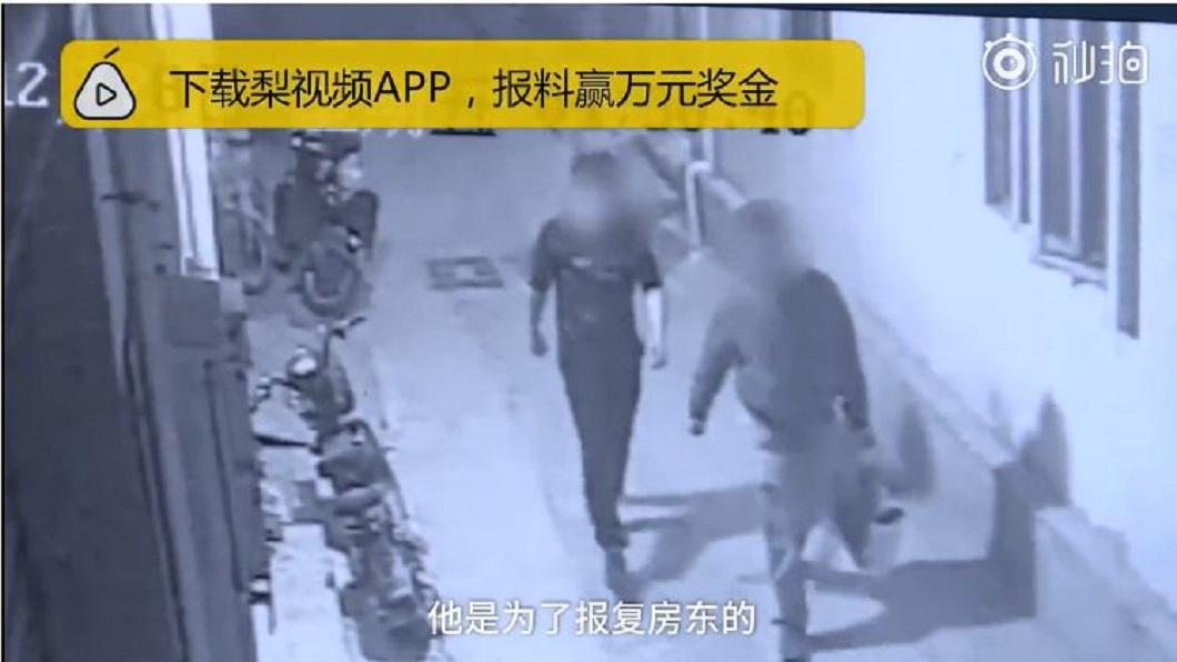 警方事後追查是2名男子所為,他們和房東起糾紛,以為鴿子是房東養的,才會偷來吃報復。(圖/翻攝自梨視頻)