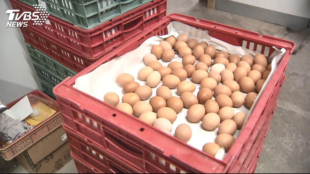 圖/TVBS 蛋荒開放進口蛋 農民怒:干預市場還敢發新聞稿
