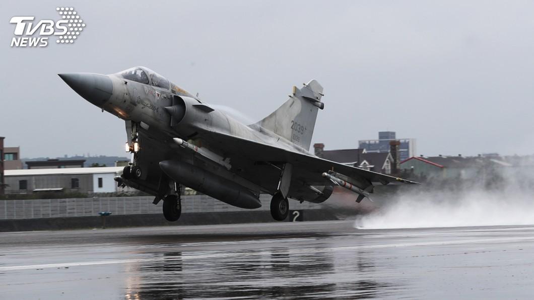 圖/中央社 捍衛台灣領空 幻象戰機從整備到起飛只需6分鐘