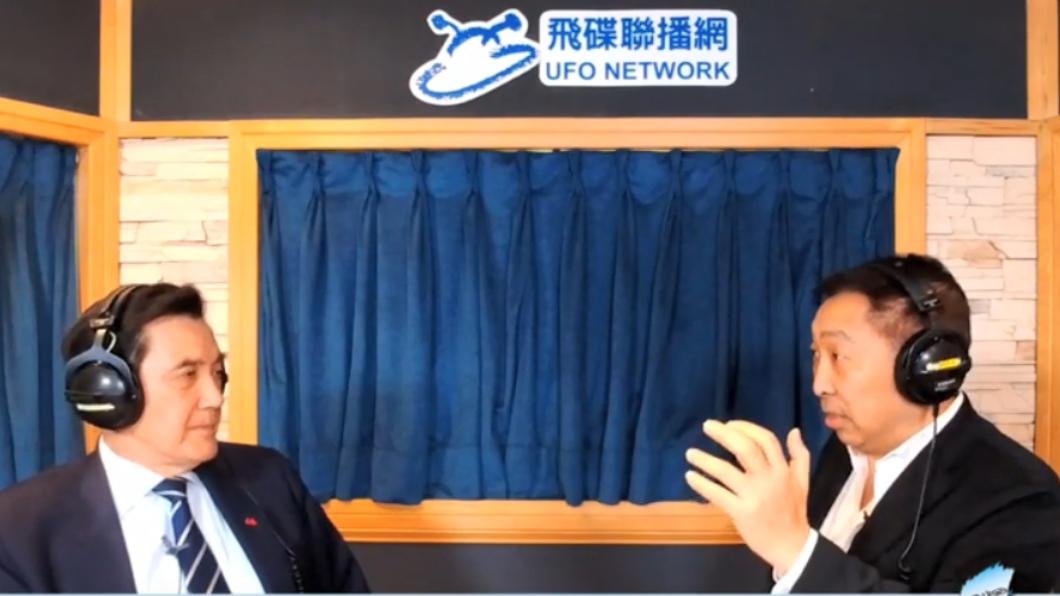 馬英九今(16)日接受主持人唐湘龍專訪。圖/翻攝自YouTube