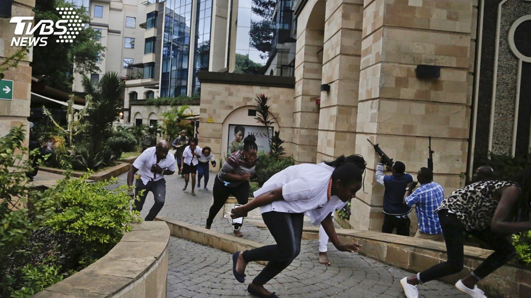 圖/達志影像美聯社 肯亞飯店建築群遇襲15死 索馬利亞青年黨犯案