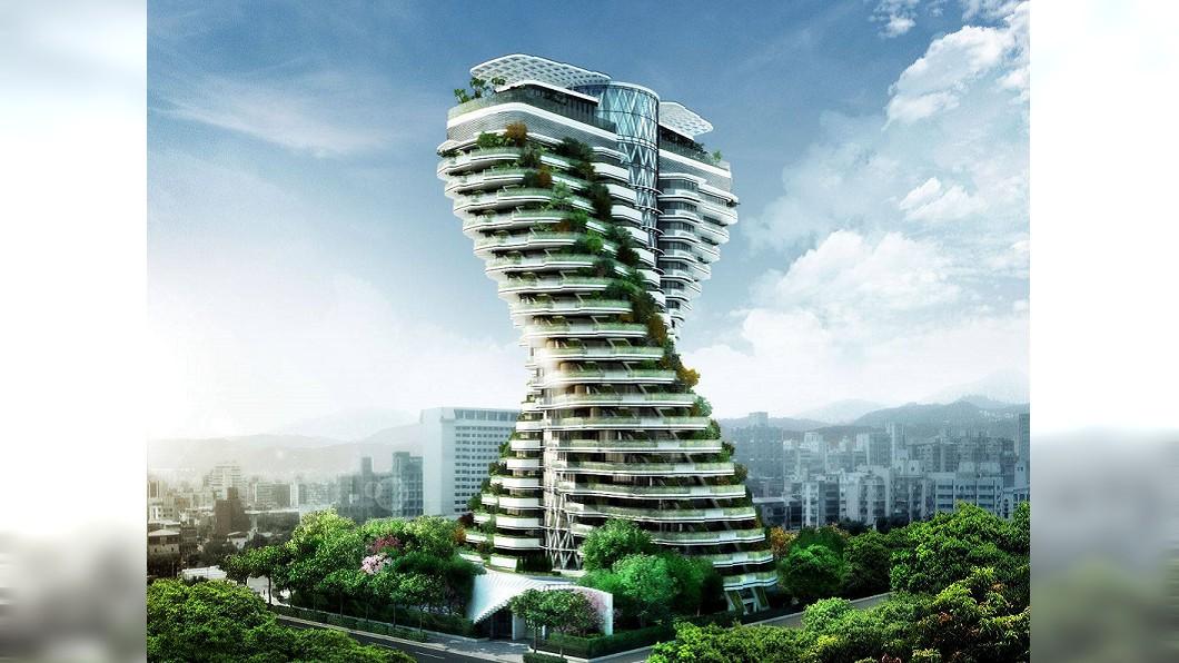 圖/翻攝自中華工程臉書頁 傳單戶價格18億 超級豪宅「過五關」才能看屋